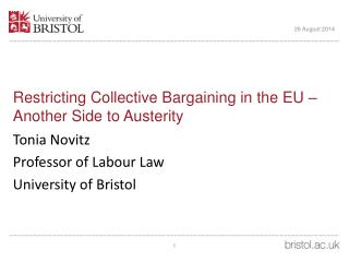 Restricting Collective Bargaining in the EU –  Another Side to Austerity