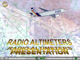 RADIO ALTIMETERS PRESENTATION