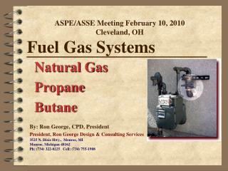 Fuel Gas Systems