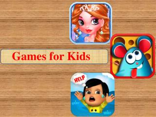 Free Android Kids Games to Learn Different Activities