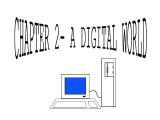CHAPTER 2- A DIGITAL WORLD