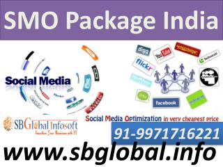 SMO Package India for small and affordable Business