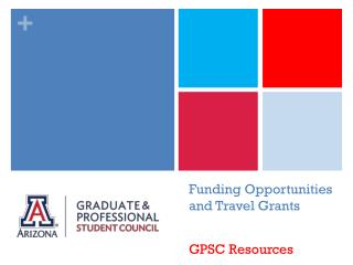 Funding Opportunities and Travel Grants