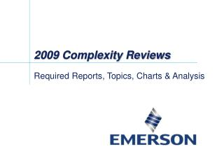 2009 Complexity Reviews