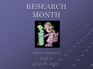 RESEARCH  MONTH