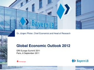 Global Economic Outlook 2012