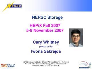 NERSC Storage