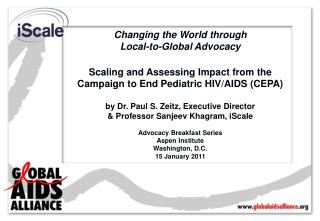Changing the World through  Local-to-Global Advocacy