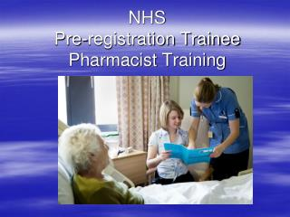 NHS Pre-registration Trainee Pharmacist Training