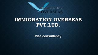 Apply For Visa With Immigration Experts