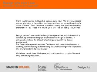 What is the future of Design Management?