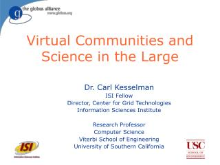Virtual Communities and Science in the Large