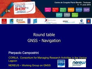 Round table GNSS - Navigation