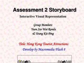 Assessment 2 Storyboard