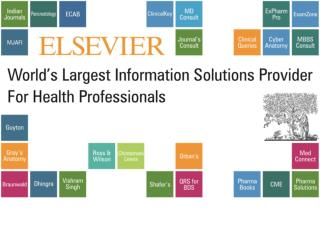 Global publisher of science and health information.