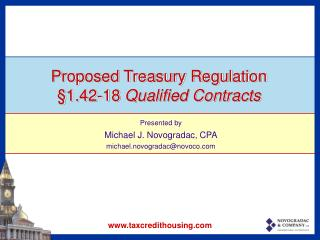 Proposed Treasury Regulation §1.42-18  Qualified Contracts