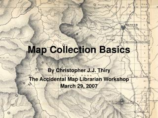 Map Collection Basics