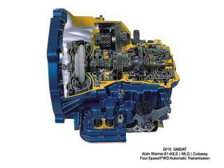 2010  GMDAT Aisin Warner  81-40LE ( MLQ ) Cutaway Four  Speed  FWD  Automatic Transmission