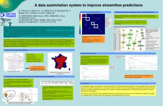 A data assimilation system to improve streamflow predictions