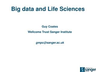 Big data and Life Sciences