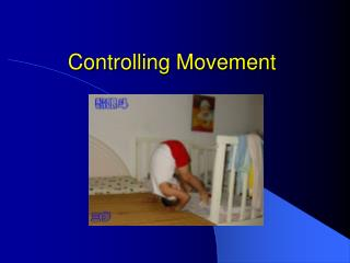 Controlling Movement