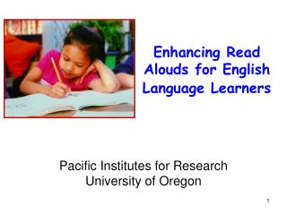 Enhancing Read Alouds for English Language Learners