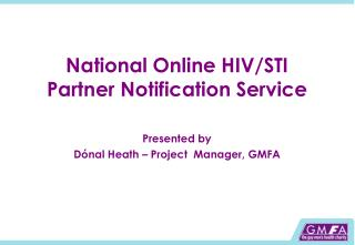 National Online HIV/STI Partner Notification Service