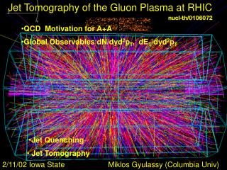 Jet Tomography of the Gluon Plasma at RHIC