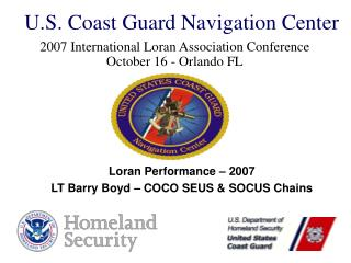U.S. Coast Guard Navigation Center