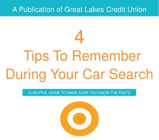 A Publication of Great Lakes Credit Union