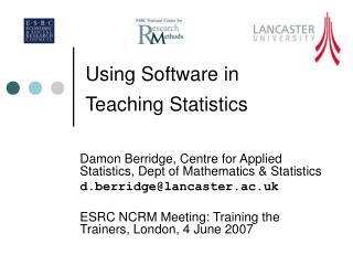 Using Software in Teaching Statistics