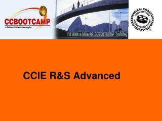 CCIE R&S Advanced