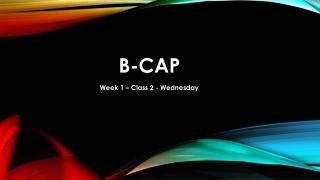 B- CaP