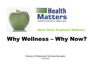 Idaho State Employee Wellness