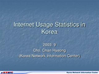 Internet Usage Statistics in Korea