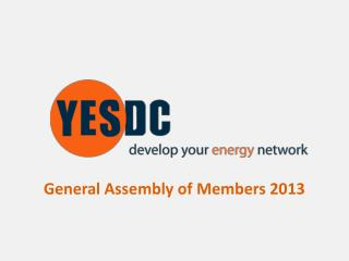 General Assembly of Members 2013