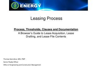 Leasing Process