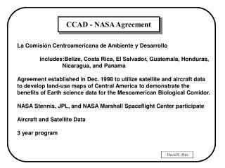 La Comisión Centroamericana de Ambiente y Desarrollo