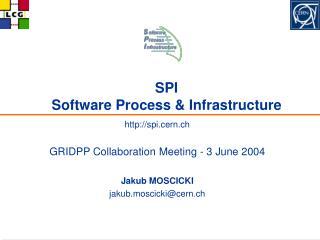 SPI Software Process & Infrastructure