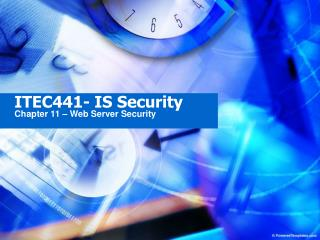 ITEC441- IS Security