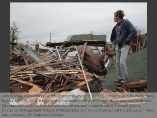 Deadly tornadoes wallop Midwest