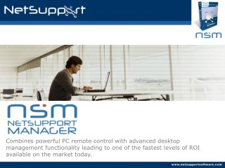 Combines powerful PC remote control with advanced desktop management functionality leading to one of the fastest levels