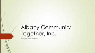 Albany Community Together, Inc.