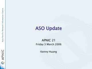 ASO Update