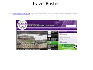 Travel Roster