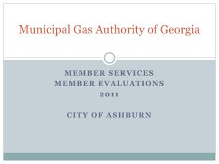 Municipal Gas Authority of Georgia