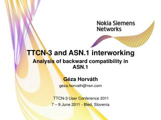 TTCN-3 and ASN.1 interworking