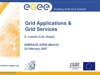 Grid Applications & Grid Services