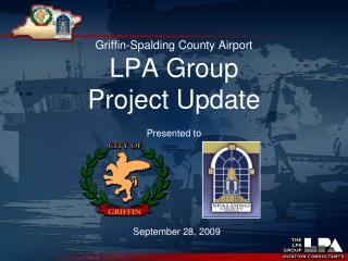 Griffin-Spalding County Airport  LPA Group  Project Update
