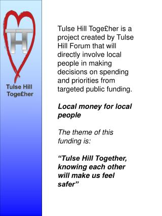 Tulse Hill  Toge£her